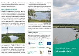 Evropsky významná lokalita Heřmanický rybník