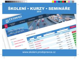 školení • kurzy • semináře - Školení pro dopravce