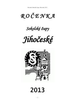 Rocenka Sokolské župy Jihočeské 2013.pdf - Sokol