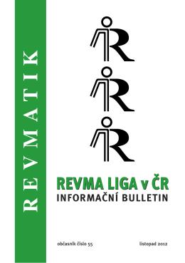 Revmatik č. 55 - Revma Liga v ČR