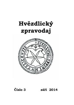 Zpravodaj č. 3/2014