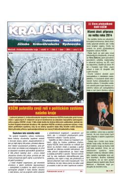 Krajánek 02/2014 - KSČM Hradec Králové