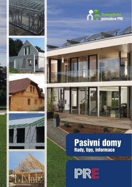Pasivní domy – rady, tipy Informace