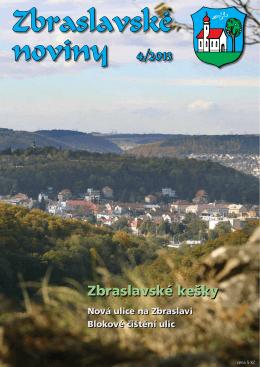 Zbraslavské noviny 4/2013