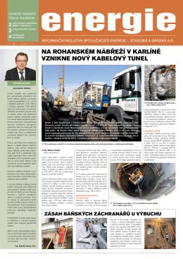 Bulletin Energie 2/2013 - Energie stavební a báňská