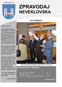 zpravodaj červenec-srpen 2012