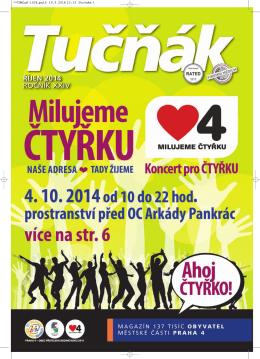 Tučňák 10/14 - Naše Praha 4