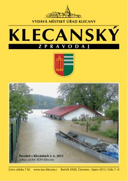 7-8/2013 - Klecany