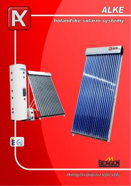 Solární systémy ALKE