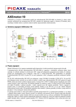 AxeMotor10 - Hobbyrobot