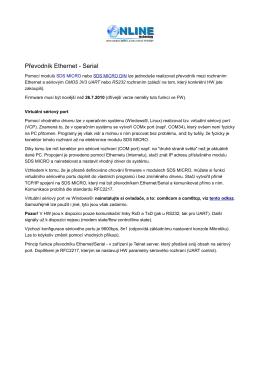 Rs232 - Měření Energie - SDS