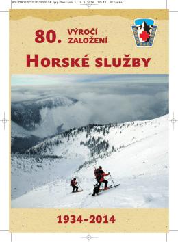 Publikace k 80.výročí založení HS