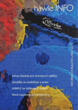Jaro 2013 - Hawle Armatury