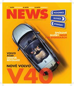 VOLVO XC60 LEDOVÁ REVOLUCE