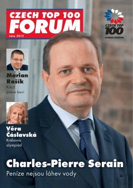 Charles-Pierre Serain Věra Čáslavská