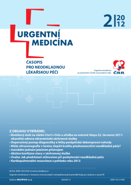 2/2012 - Urgentní medicína