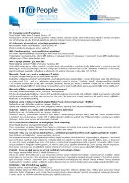 KVADOS - Ostrava a její pozice ve vývoji mobilních