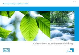 Odpovědnost za environmentální škody