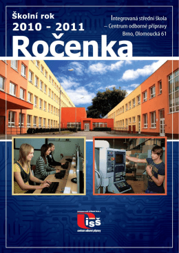 Ročenka 2010/2011 - SŠTE Brno, Olomoucká 61