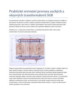 Praktické srovnání provozu suchých a olejových - Elpro