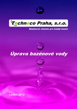 Úprava bazénové vody - Techneco Praha, sro