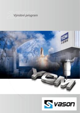 Výrobní program YCM - E