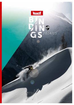 Katalog vázání Marker Bindings 2014-2015