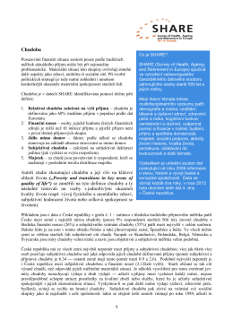 Zpravodaj SHARE 01/2014 - cerge-ei