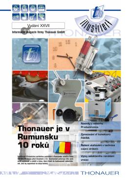 číslo 2 - Thonauer
