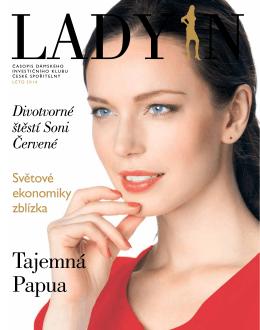 Pětadvacáté číslo časopisu Dámského investičního klubu LADY IN