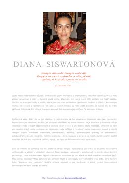 Mgr. Diana Siswartonová
