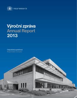 Výroční zpráva Annual Report 2013