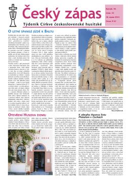 33/2013 - Církev československá husitská
