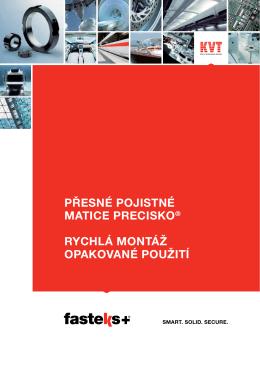 FASTEKS+ PRECISKO® Přesné pojistné matice | KVT