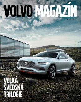 Volvo magazín, jaro/léto 2014