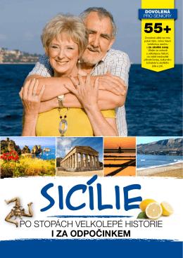 Sicílie - Dovolená pro seniory 55+