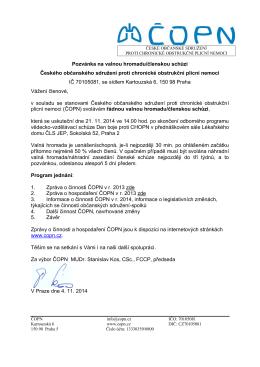 Vážená paní - www . copn . cz