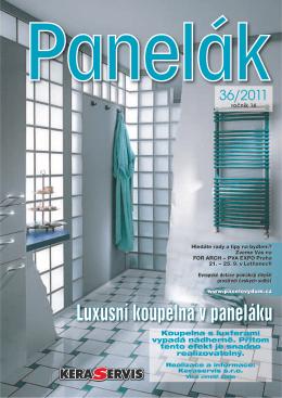 Koupelna s luxferami vypadá nádherně. Přitom tento efekt je snadno