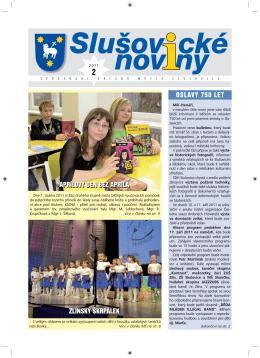 Slušovické noviny – č. 2/2011