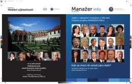 Manažer Info - Česká manažerská asociace