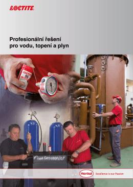 Další řešení pro instalatéry a montéry