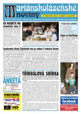 mln02_14.indd - Mariánskolázeňské Noviny