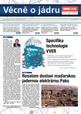 Rosatom dostaví maďarskou jadernou elektrárnu Paks