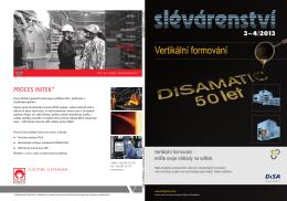 stáhnout [pdf] - Časopis SLÉVÁRENSTVÍ