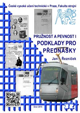 PODKLADY PRO PŘEDNÁŠKY - CVUT v Praze, Fakulta strojni
