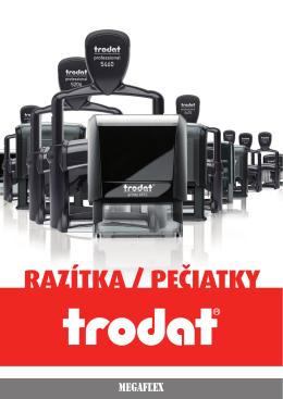 katalog razítek trodat 2015