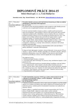 Nabídka témat závěrečných prací (PDF)