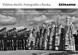 Viděno devíti. Fotografie z Ruska. - Jan Vermouzek
