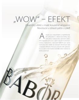 BABOR Newsletter - duben 2014