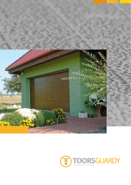Katalog garážových vrat TOORS.